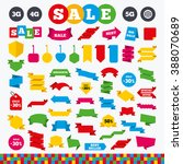 banners  web stickers and... | Shutterstock .eps vector #388070689