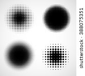 abstract halftone backgrounds.... | Shutterstock . vector #388075351