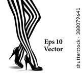 vector illustration of female... | Shutterstock .eps vector #388079641