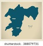 modern map   pool cg   Shutterstock .eps vector #388079731