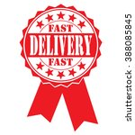 fast delivery  icon  vector... | Shutterstock .eps vector #388085845