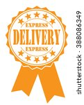 express delivery icon  vector... | Shutterstock .eps vector #388086349