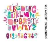 abc for kids | Shutterstock .eps vector #388095745