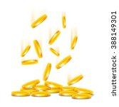 coins | Shutterstock .eps vector #388149301