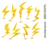 lightning bolts set....
