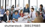 business people office working... | Shutterstock . vector #388159885