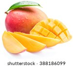 Mango Cubes And Slices....
