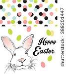 happy easter celebrations... | Shutterstock .eps vector #388201447