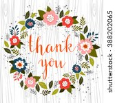 hand drawn illustration with... | Shutterstock .eps vector #388202065