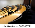 an empty modern lecture style... | Shutterstock . vector #388208791