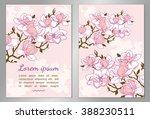 elegant floral background for... | Shutterstock .eps vector #388230511