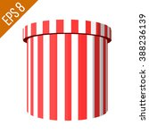 striped container. tub food... | Shutterstock .eps vector #388236139