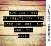 inspirational typographic quote ... | Shutterstock . vector #388239427