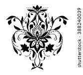hand drawn pattern | Shutterstock .eps vector #388240039