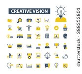 creative vision icons  | Shutterstock .eps vector #388252801
