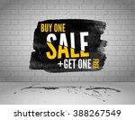 vector half price sale... | Shutterstock .eps vector #388267549