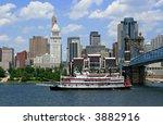 Replica Steamboat Travels Down...