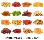 Dried Fruits Collection Banana...