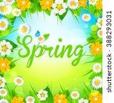 spring | Shutterstock .eps vector #388293031