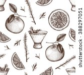 vector seamless pattern with...   Shutterstock .eps vector #388297051