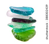 Colorful Sea Glass Stones