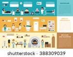healthcare medical diagnostics... | Shutterstock .eps vector #388309039