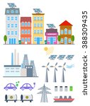green city infographic set... | Shutterstock .eps vector #388309435