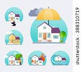 house insurance business...   Shutterstock .eps vector #388310719