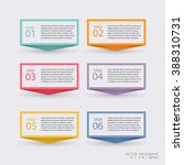 vector colorful info graphics... | Shutterstock .eps vector #388310731
