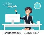 vector flat character design on ...   Shutterstock .eps vector #388317514