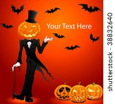 vector image of halloween jack... | Shutterstock .eps vector #38832640