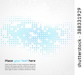 abstract technology background. ... | Shutterstock . vector #388331929