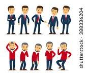 businessman emotions   Shutterstock . vector #388336204