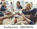 business people party... | Shutterstock . vector #388338394