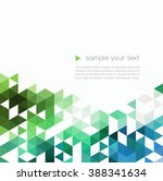 trendy geometric design.... | Shutterstock . vector #388341634