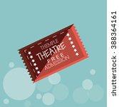 ticket icon design  | Shutterstock . vector #388364161