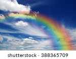 A Bright Rainbow In The Sky