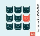 emoticons icon. emoticons...