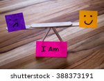 concept for i am  embracing... | Shutterstock . vector #388373191