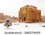 gonbade alavian in winter in... | Shutterstock . vector #388374499