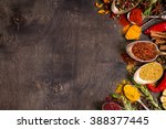 set of various aromatic... | Shutterstock . vector #388377445