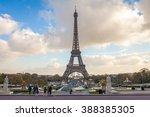 eiffel tower  paris. france | Shutterstock . vector #388385305