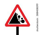 united kingdom falling rocks or ... | Shutterstock .eps vector #388408099