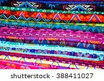 colorful cloth texture...   Shutterstock . vector #388411027
