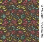 bakery background | Shutterstock . vector #388426741