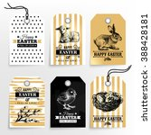 Happy Easter Sale Tags. Holida...