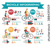 infographic bicycle for family... | Shutterstock .eps vector #388439509