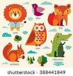 perfect vector set of... | Shutterstock .eps vector #388441849
