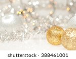 christmas background with... | Shutterstock . vector #388461001