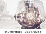 businessman using digital... | Shutterstock . vector #388470355